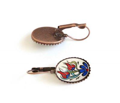İlbay Çini Takı Küpe 6091DS016